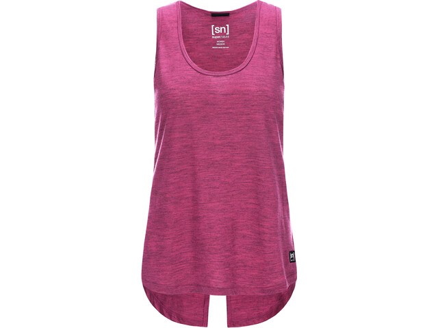 super.natural W's Motion Loose Tank Top Loganberry 3D
